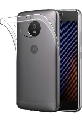 Coverzone Motorola Moto G5 Kılıf 0.2 Mm Silikon + 3D Araç Kokusu