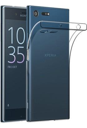 Coverzone Sony Xperia Xz Premium Kılıf 0.3 Mm Silikon + 3D Araç Kokusu