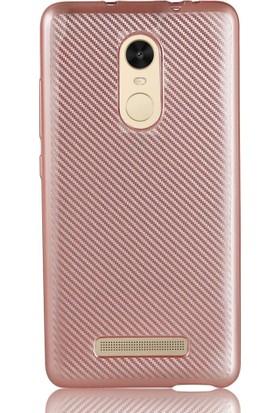 Coverzone Xiaomi Redmi Note 3 Kılıf Karbon Silikon