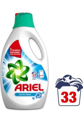 Ariel Sıvı Çamaşır Deterjanı Ekstra Ferah 33 Yıkama Beyazlar ve Renkliler İçin