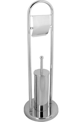 RST® Mannesmann Kağıtlık Tuvalet Fırça Seti - 430 Kalite