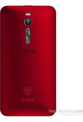 Casecrown Asus Zenfone 2 Arka Batarya Kapak Kırmızı