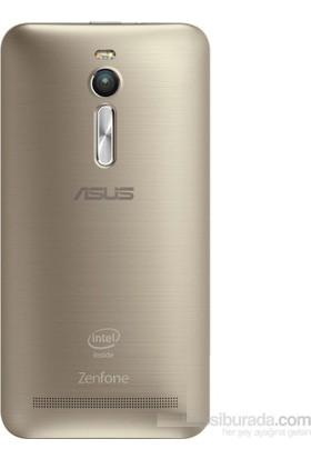 Casecrown Asus Zenfone 2 Arka Batarya Kapak Gold