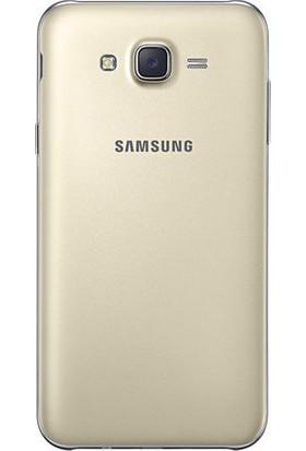 Casecrown Samsung Galaxy J7 Arka Pil Batarya Kapak Gold
