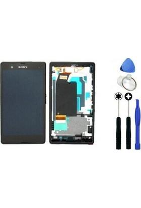 Casecrown Sony Xperia Z Dokunmatik Lcd Ekran + Sökme Aparatı