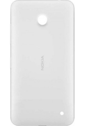 Casecrown Nokia Lumia 630 Arka Pil Batarya Kapak Beyaz