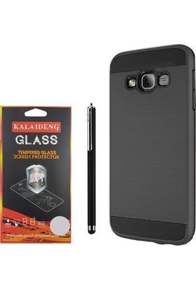 Gpack Samsung Galaxy S3 Kılıf Darbe Emici Katmanlı Case +Kalem+Cam