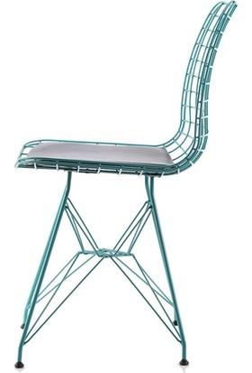 Kozza Home Kafesli Metal M7T Sandalye