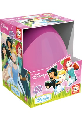 Educa Puzzle Yumurta Kutulu Princess 48 Parça Karton Puzzle zen