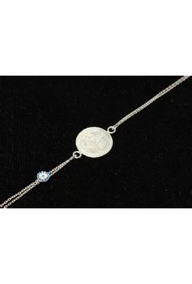 Nusret Takı 925 Ayar Gümüş Paralı Mahmudiye Bileklik