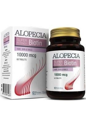 Alopecia Biotin 10000 Mcg 60 Tablet