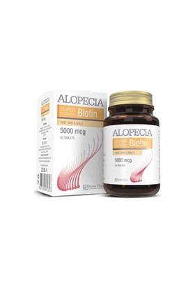 Alopecia Biotin 5000 Mcg 60 Tablet