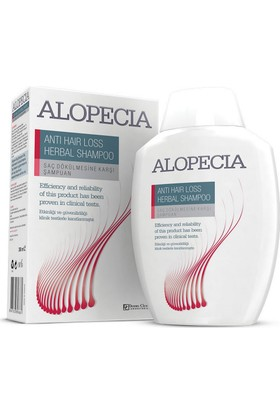 Alopecia Şampuan Anti Hair Loss Herbal Shampoo 300 Ml