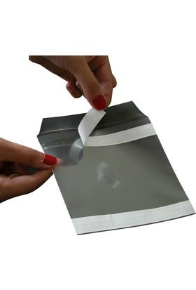 Aso Plastik Cd Zarfı Arkası Yapışkanlı Şeffaf 100 Adet