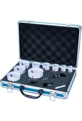 Makita D-47307 Alüminyum Çantalı Bi Metal Delik Testere Panç Seti