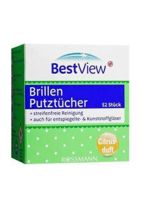 Brillen Putztücher Bestview Gözlük Cam Temizleme Mendili