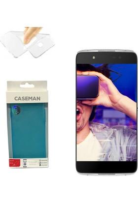 Case Man Alcatel İdol 4 Silikon Kılıf Ultra İnce Koruma Telefonunuza Tam Uyumlu