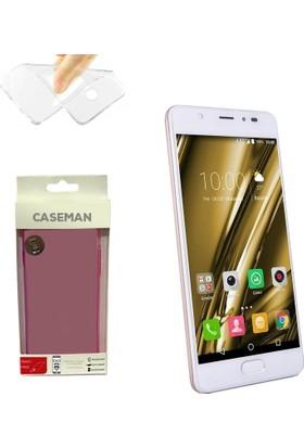 Case Man Casper Via P1 Silikon Kılıf Ultra İnce Koruma Telefonunuza Tam Uyumlu