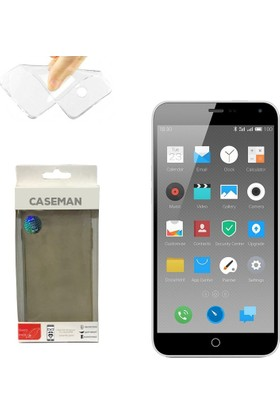 Case Man Meizu M1 Note Silikon Kılıf Ultra İnce Koruma Telefonunuza Tam Uyumlu