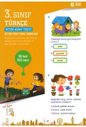 3. Sınıf Türkçe Yaprak Test Çek Kopar