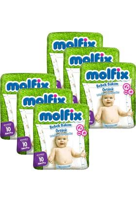 Molfix Bebek Bakım Örtüsü 60 x 60 cm 10'lu Paket x 6 Adet