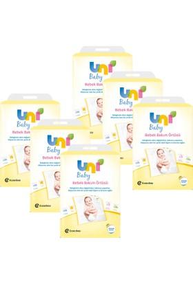 Uni Baby Alt Açma Örtüsü 10'lu x 6 Adet