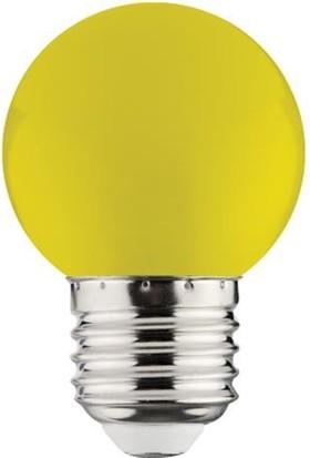 Horoz 1 Watt Renkli Sarı&Kırmızı Gece Lambası Led Ampul E-27 Duy