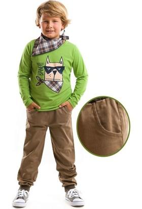 Mushi Bandit Dog Kanvas Pantolon Takım