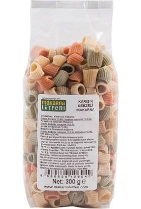 Makarna Lütfen Karışık Sebzeli Makarna 300 Gr (+8 Ay)