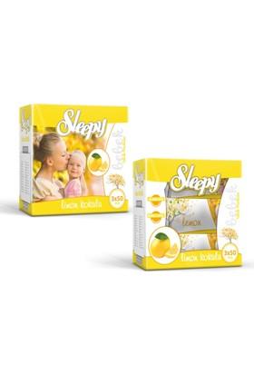 Sleepy 3X50'Li Kutulu Islak Havlu-Limon