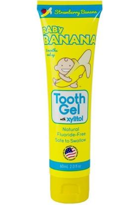 Baby Banana Diş Macunu Muzlu Çilekli 3 Ay Ve Üzeri