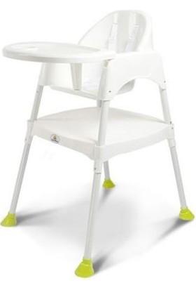 Wellgro Çok Fonksiyonlu Mama Sandalyesi Beyaz