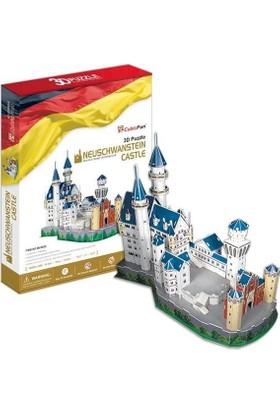 Adali Cubic Fun 3D Puzzle Neuschwanstein Kalesi