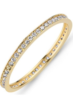 Goldstore 14 Ayar Altın Tamtur 0.27 Ct Pırlanta Yüzük Dttd38450 30