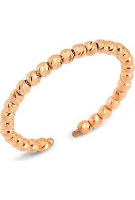 Goldstore 14 Ayar Altın Dorika Top Yüzük Grf40419 30