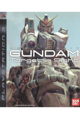 Gundam Target in Sight Ps3
