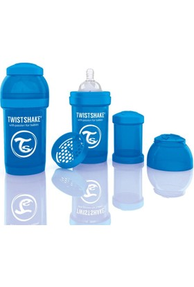 Twistshake Anti-Colic Biberon 180 Ml Mavi