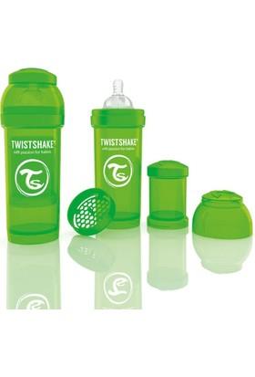 Twistshake Anti-Colic Biberon 260 Ml Yeşil