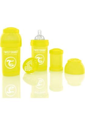 Twistshake Anti-Colic Biberon 180 Ml Sarı