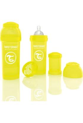 Twistshake Anti-Colic Biberon 260 Ml Sarı