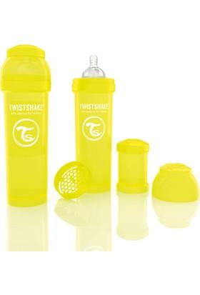 Twistshake Anti-Colic Biberon 330 Ml Sarı