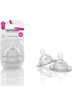 Twistshake Anti-Colic Biberon Emziği Small 0+ Ay