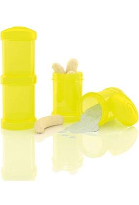 Twistshake 2'Li Saklama Kabı Sarı