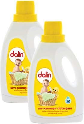 Dalin Çamaşır Deterjanı 2 lt x 2 Adet