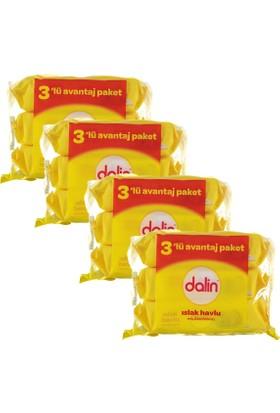 Dalin Islak Temizleme Mendili 56'lı (3 Lü Paket) x 4 Adet