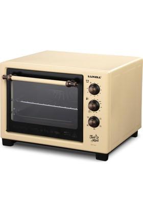 Luxell LX-8589 Tini Mini 20 Lt Fırın- Rustik