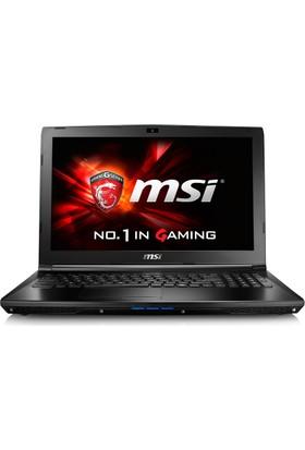 """MSI GL62 6QE-1824XTR Intel Core i5 6300HQ 8GB 1TB GTX950M Freedos 15.6"""" FHD Taşınabilir Bilgisayar"""