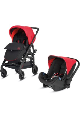 Inglesina Trilogy City Bebek Arabası - Puset + Huggy Anakucağı / Race Red