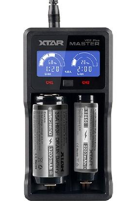 Xtar Vc2 Universal Plus Master Li-İon Şarj Cihazı