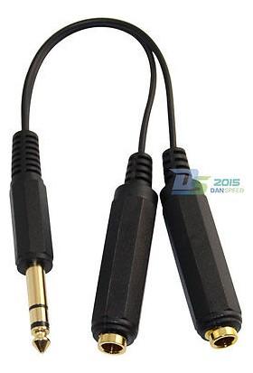 Mykablo Stereo Erkek Çoklayıcı 6.3 Mm